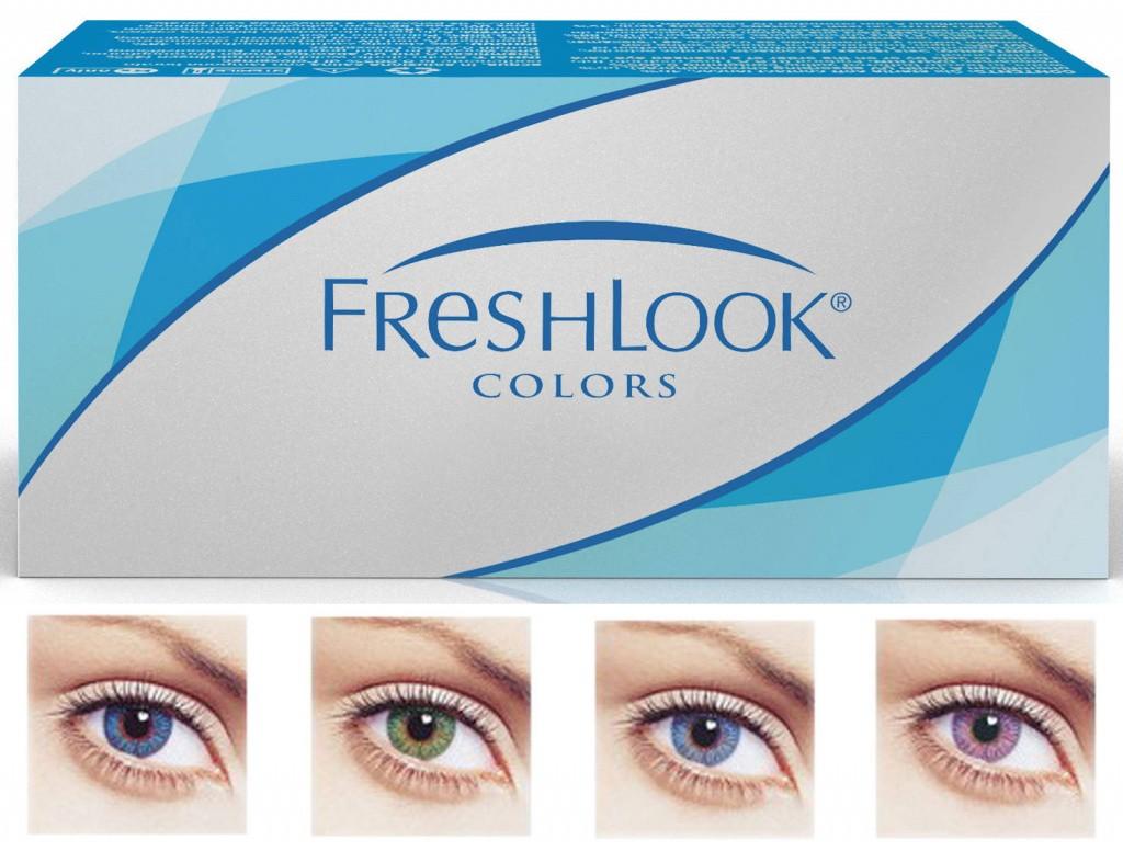 Как легко освежить взгляд? Палитра и применение цветных линз FreshLook (Фреш Лук)